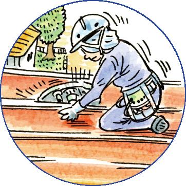 屋根職人の一日をご紹介します