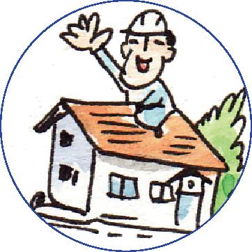 屋根職人の道